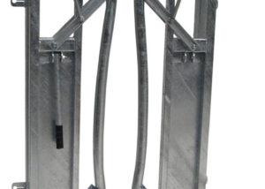 Universal Head Locking Gate