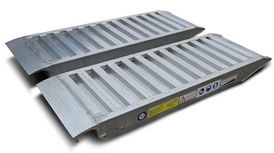 Professional Aluminium Loading Ramps UK & Ireland